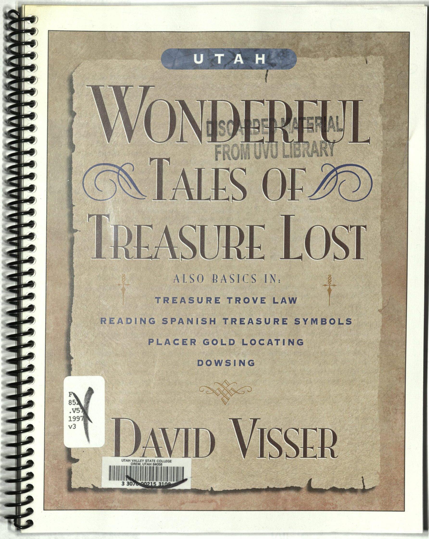Wonderful tales of treasure lost: Also basics in : Treasure