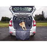 Jekam Kofferraum-Schutz Hund XXL Kombi SUV-strapazierfähige Kofferraumschutzdecke wasserdicht waschbar-Kofferraumschutzmatte mit Seitenschutz-Kofferraummatte