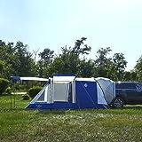 KingCamp テント 車用 カーテント サンシェード 大空間 3ドア 通気 メッシュ窓 虫類防止 カーサイドテント タープ UVカット 収納コンパクト KT4084