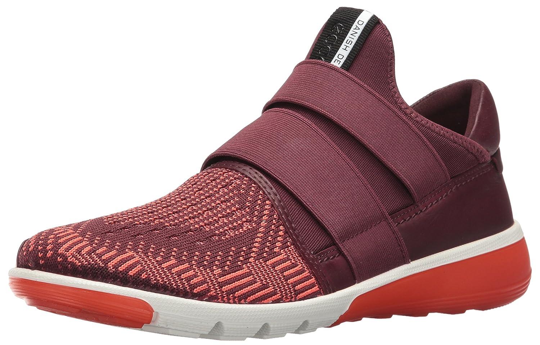 ECCO Women's Intrinsic 2 Band Fashion Sneaker B01EKKXPQG 39 EU/8-8.5 M US|Bordeaux-coral Blush/Bordeaux