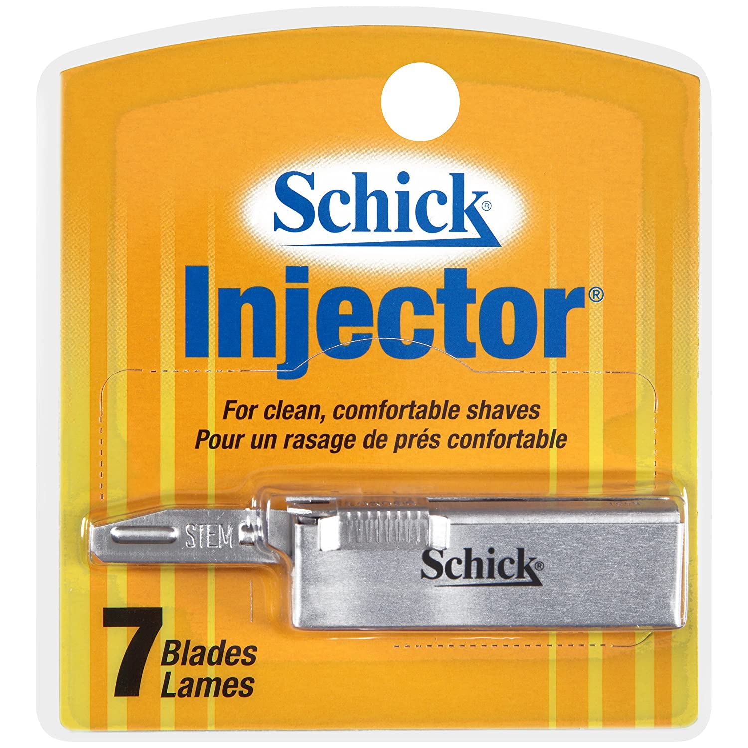 Schick Injector Blades, 7-Count Boxes (Pack of 4) 01202
