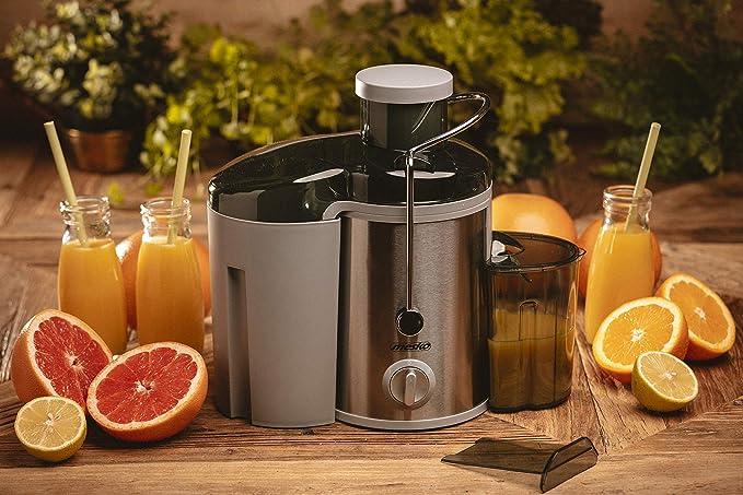 MESKO MS 4126 - Licuadora eléctrica para frutas y verduras (acero ...