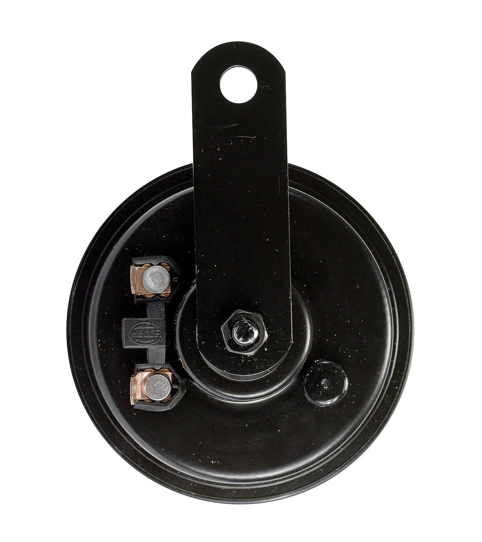 Ht Universal Fit-Single Blister Pack HELLA 012588071 Black 92mm 12V Disc Horn