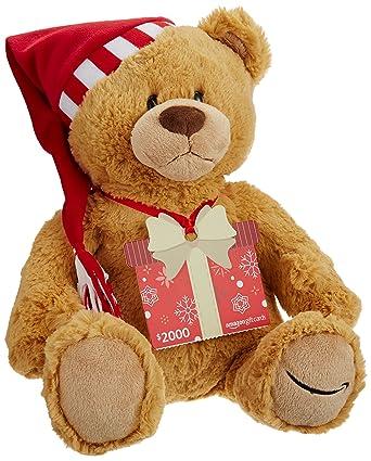 Amazon.com: Amazon.com - Tarjeta de regalo con diseño de oso ...