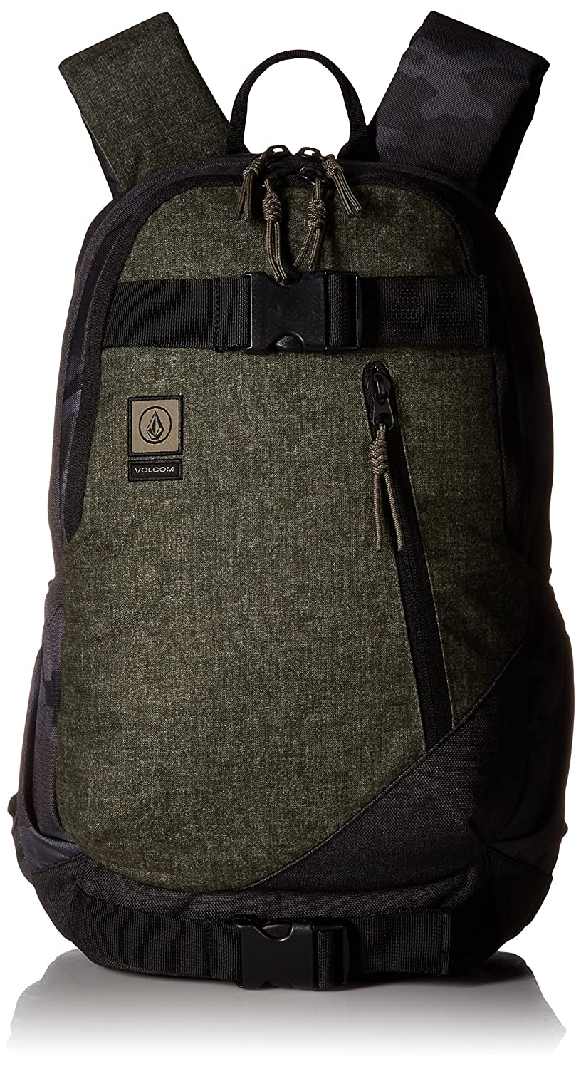 Volcom Unisex Substrate Backpack Black/Grey One Size Fits All D6531649