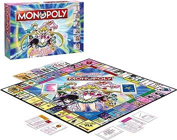 Winning Moves Sailor Moon Monopoly - Italy Merchandising Ufficiale: Amazon.es: Deportes y aire libre