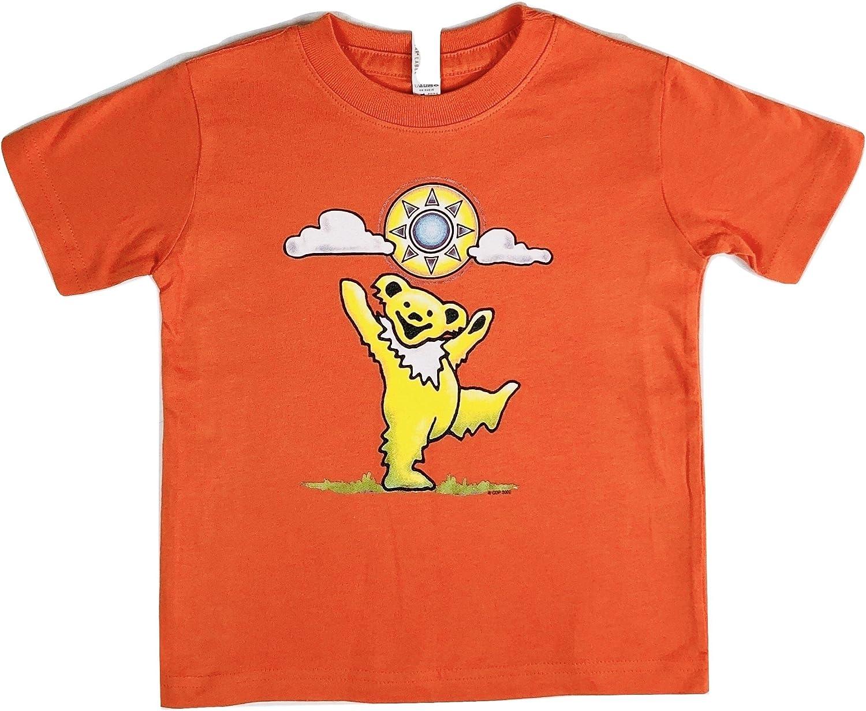 Grateful Dead Toddler Sunny Bear T Shirt by Dye The Sky