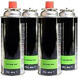 PROWELTEK 4 Cartouches Gaz Butane Mix à Baïonnette - 400 ml - 230 Gr