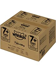 Whiskas Katzenfutter Nassfutter 7+ Gemischte Auswahl in Gelee
