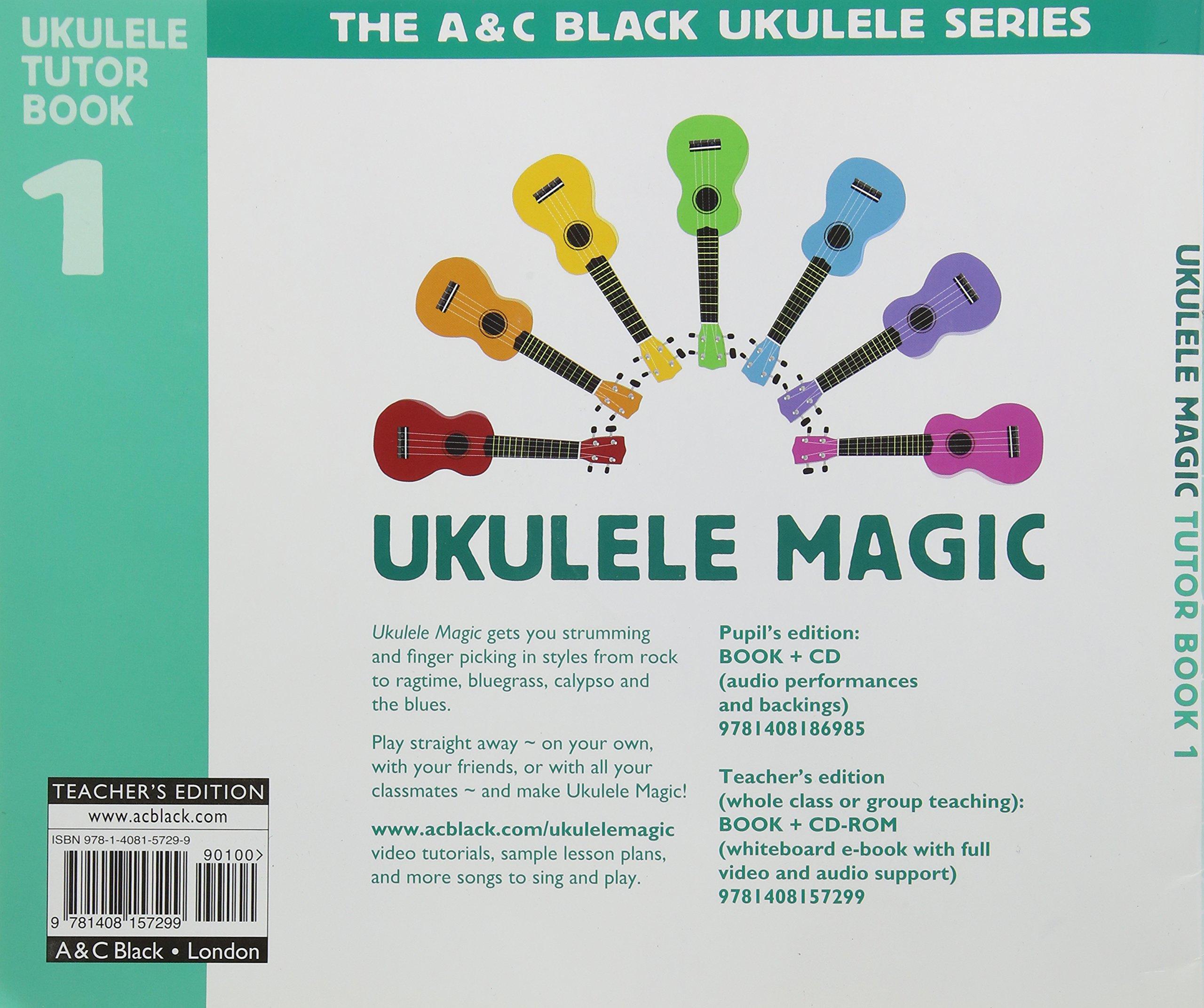 Ukulele Magic Teachers Book Ian Diagram Lawrence Books
