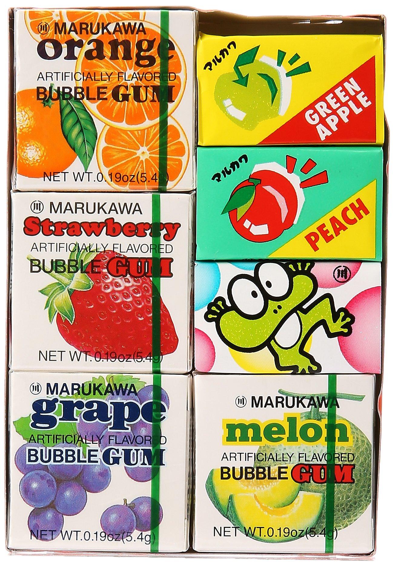 Marukawa - Seven Pack Bubble Gum Sampler