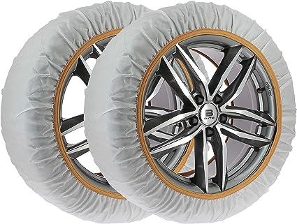 Car2top -Accesoriosyllantas Cadenas de Nieve de Tela Fabricadas en España (Talla XXL): Amazon.es: Coche y moto