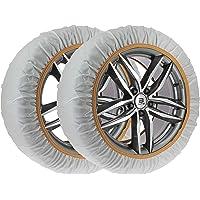 Car2top -Accesoriosyllantas Cadenas de Nieve de Tela Fabricadas