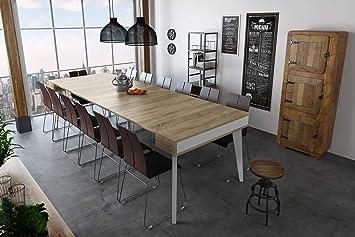 Rectangulaire Salle De RallongesExtensible Jusqu' Mat Table Séjour Avec À Manger Nordic Blanc Et 300 Console Home K CmFinition Innovation e2bHIWE9YD