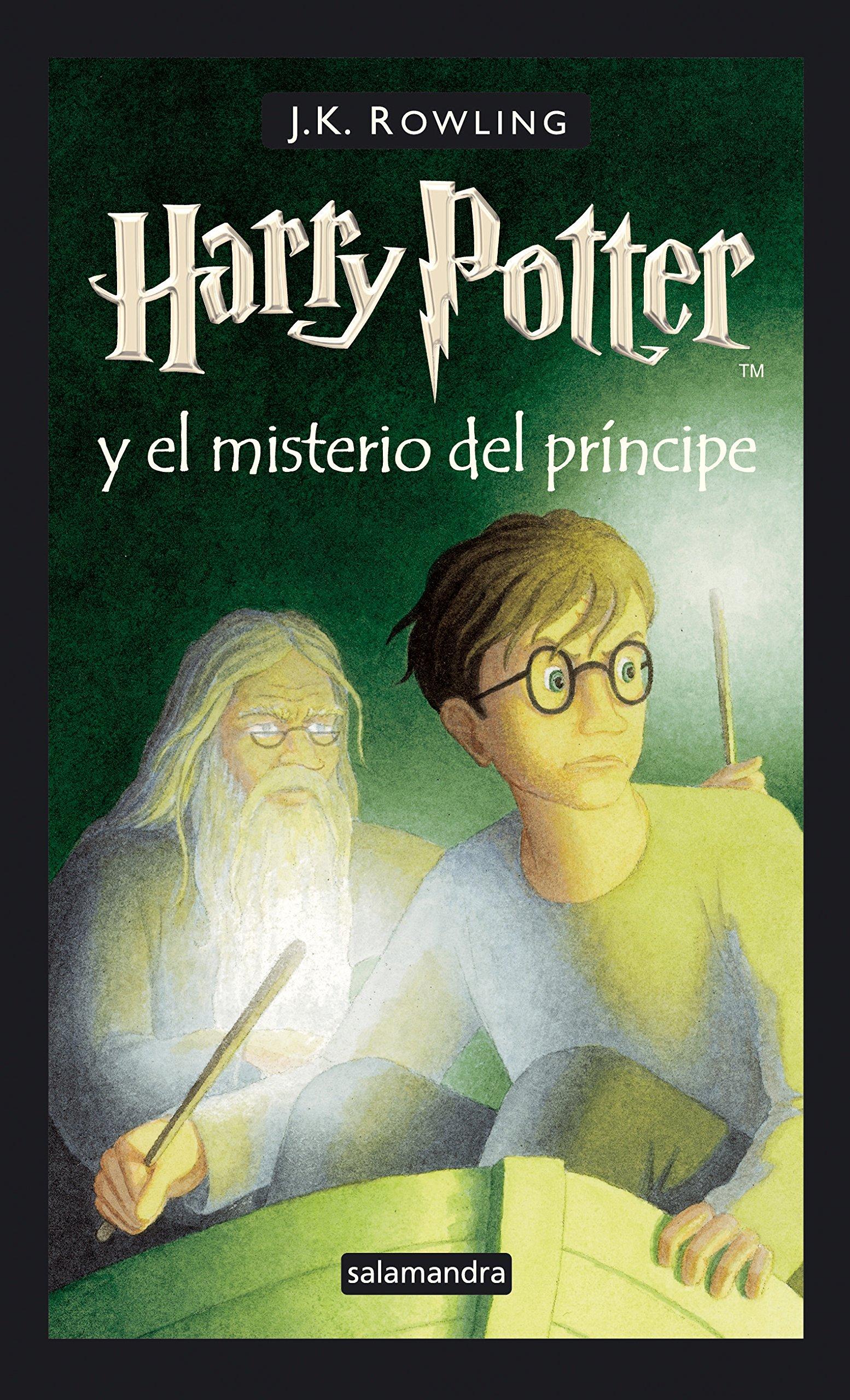 Harry Potter 6 y el misterio del príncipe: Amazon.es: Rowling ...