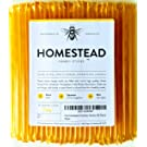 Homestead Honey Sticks, All Natural and Pure American Honey Stix Made with Real Clover Honey (100 Pack)