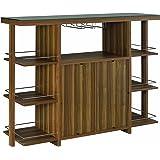 Coaster CO- Bar Cabinet, Walnut