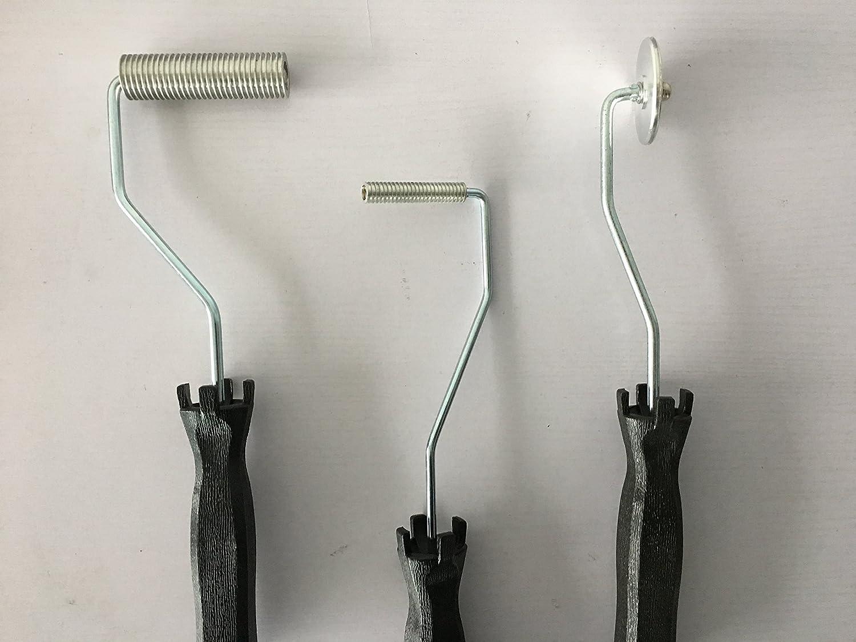 fiberglass laminating roller bubble roller for resin Laminating Roller project kit for composite LOCKFIX.INC LFI00002
