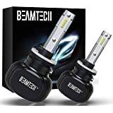 BEAMTECH 880 LED Bulb, 50W 6500K 8000Lumens Extremely Brigh 885 893 899 CSP Chips Conversion Kit Cool White All In One…