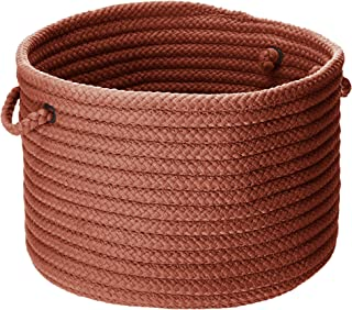 product image for Simply Home Solid Utility Basket, 14 by 10-Inch, Terracotta Pink