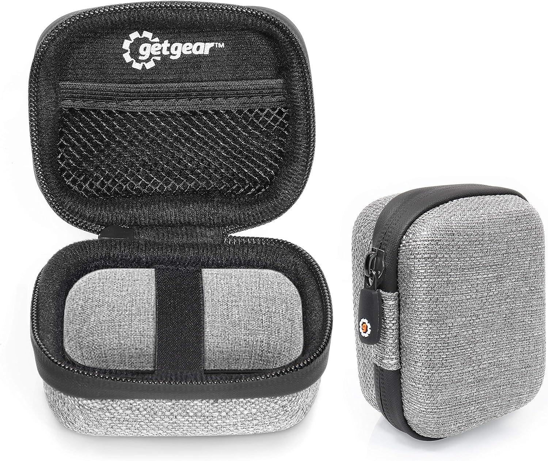 Tweed Schutzhülle Für Sennheiser Momentum True Wireless Bluetooth Ohrhörer Maßgeschneiderte Hülle Mit Passender Oberfläche Netztasche Für Usb Kabel Abnehmbare Handgelenkschlaufe Grau Audio Hifi