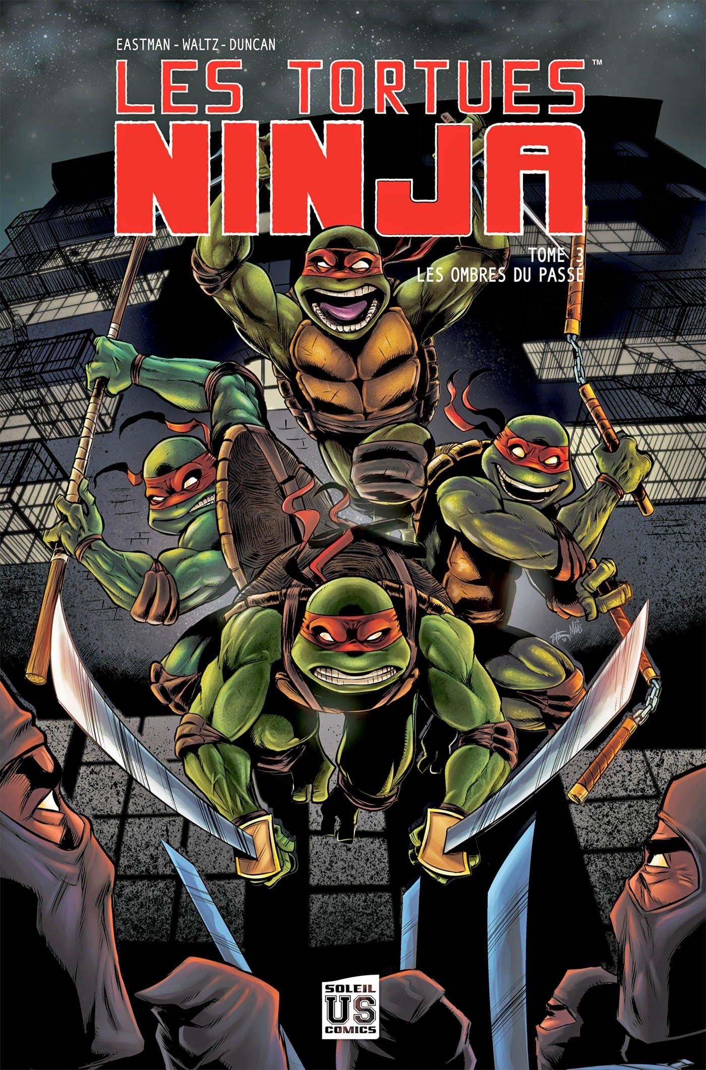 Les Tortues Ninja, Tome 3 : Les ombres du passé: Kevin ...