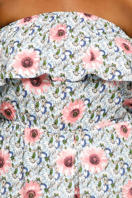 30aed535340a Amazon.com  Hadari Women s Plus Size Off Shoulder Floral Long Maxi Romper  Dress  Clothing