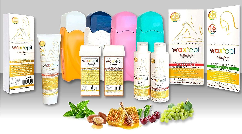 waxepil Depilación Crema Depilatoria con aceite de argán ...