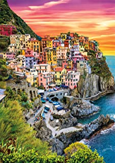 product image for Buffalo Games - Earthpix - Cinque Terre Sunset - 500 Piece Jigsaw Puzzle