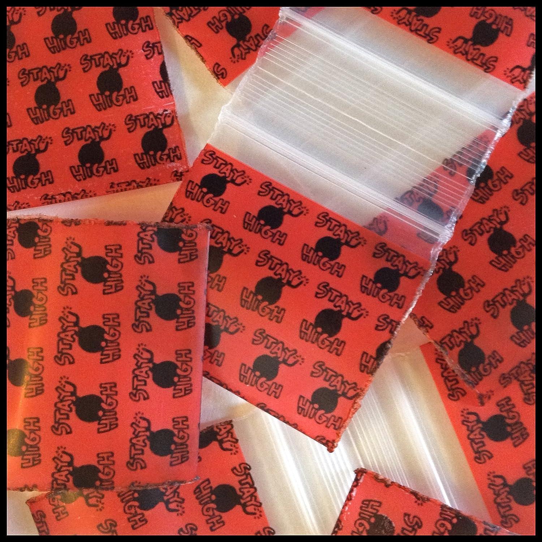 3MIL 1515 1.5X1.5 MINI ZIPLOCK COLORED BAG 10 COLORS MIX CHOOSE 1000 BAGGIES