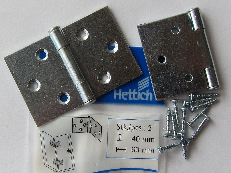 130 x 35 x 6,5 mm 2 St/ück 62313 Hettich Schrankaufh/ängeschiene 1430 Stahl verzinkt