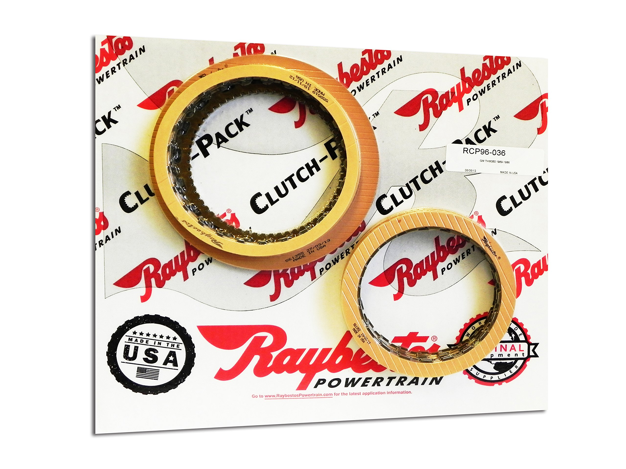 Raybestos RCP96036 Friction Module TH350 69-86