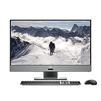 Dell Inspiron 7000 27-Inch 4K Ultra HD Gaming All-in-One Desktop - (AMD Ryzen 7 1700 Processor, 16 GB RAM, 1 TB HDD + 256 GB HDD, 8 GB AMD Radeon RX580 GDDR5 Graphics Card, Windows 10 Home) - Era Grey