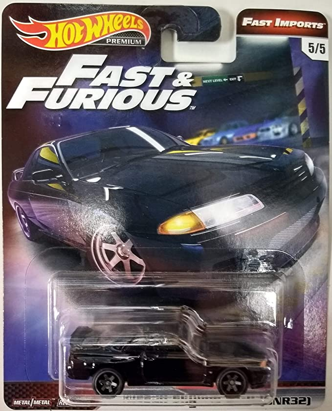 HOT WHEELS PREMIUM FAST /& FURIOUS ORIGINAL FAST #5 BCNR33 NISSAN SKYLINE GT-R