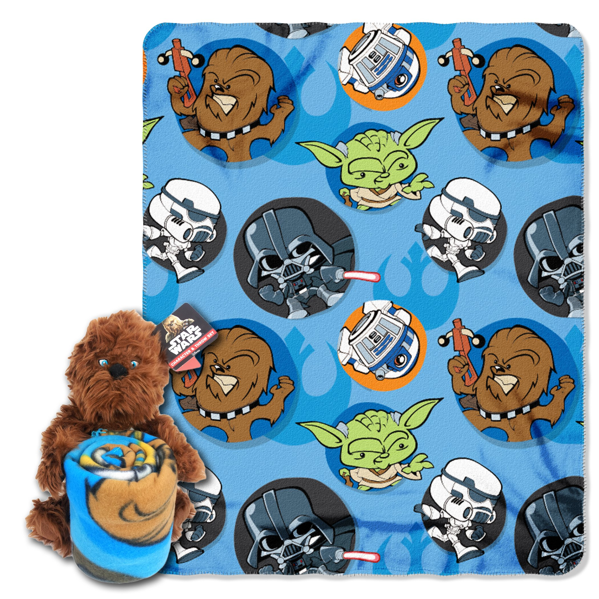 Star Wars, ''Chewie Hugger and Fleece Throw Blanket Set, 40'' x 50''