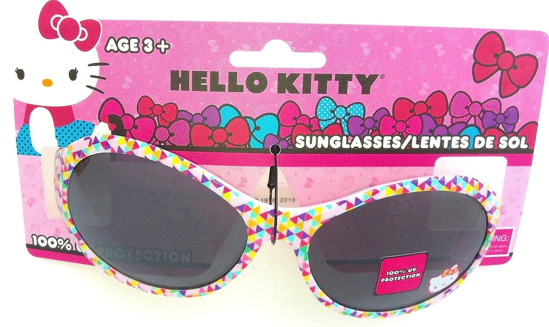 Amazon.com: Hello Kitty – Gafas de sol multicolor triángulo ...