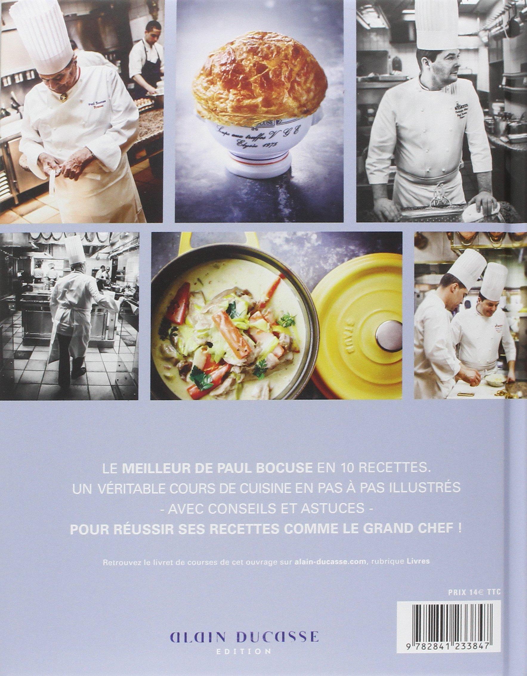 Best Of Paul Bocuse Amazoncom Books - Cours de cuisine grand chef