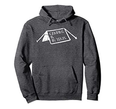 Unisex C&ing is Intense In Tents Light Pullover Hoodie 2XL Dark Heather  sc 1 st  Amazon.com & Amazon.com: Camping is Intense In Tents Light Pullover Hoodie ...