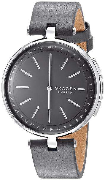 Skagen Smartwatch Analogico para Unisex de Cuarzo con Correa ...