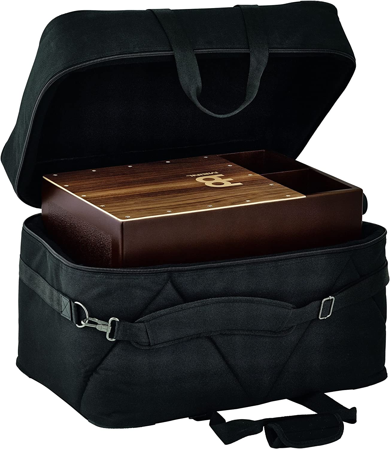 ChromaCast CC-CBAG-L Large Padded Cajon Bag with Carry Handle and Shoulder Straps