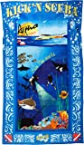 Ultimate Best Luxury Oversized Beach Pool Towel and Bag Hidden Pockets also perfect as All in One Cruise Shore Excursion Bag for Kick'n Scuba Sports Enthusiasts it is also fully Wind Resistant!