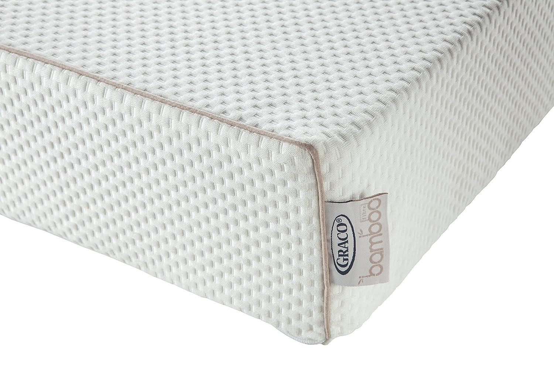 Graco Dual-Comfort Natural Bamboo Foam Crib and Toddler Mattress, 6 6 06711-200