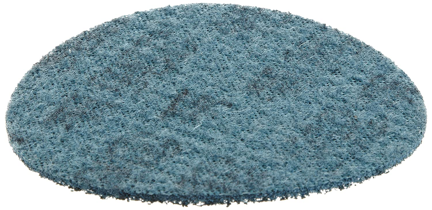 TM Aluminum Oxide Pack of 10 Scotch-Brite Surface Conditioning Disc 3M SC-DH 5 Diameter Hook and Loop Attachment NH A Very Fine