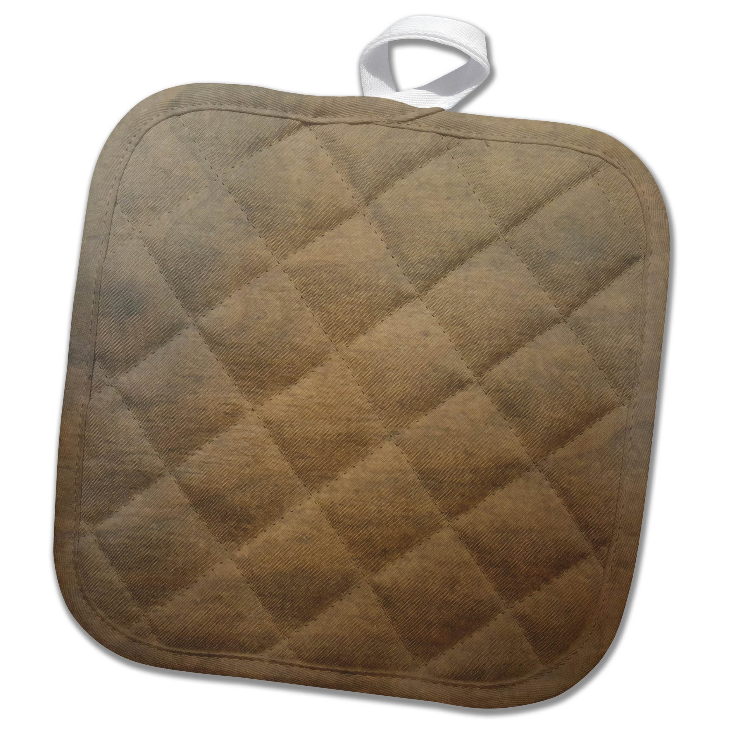3dRose TDSwhite – Miscellaneous Photography - Smooth Wood Photo - 8x8 Potholder (phl_285300_1) by 3dRose (Image #1)