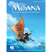 Moana Songbook: Music from the Motion Picture Soundtrack book cover