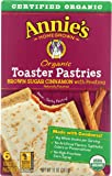 Annie's, Organic Toaster Pastries, Brown Sugar Cinnamon With Frosting, 6 Ct