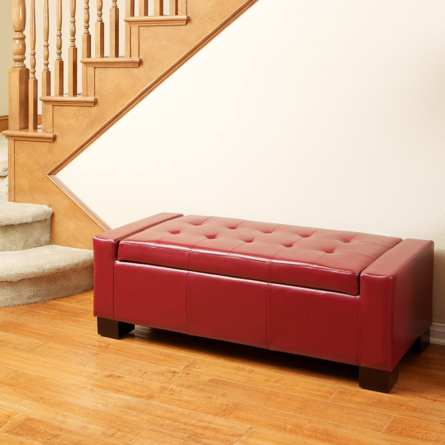 ottoman walmart canada ip santa bench storage large wyndenhall red en fe rectangular