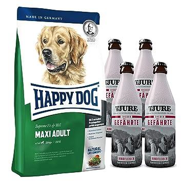 Happy Dog máximo Adult 15 kg + 4 x tjure compañero