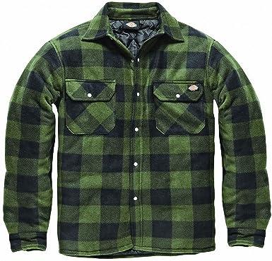 giacca camicia imbottita uomo