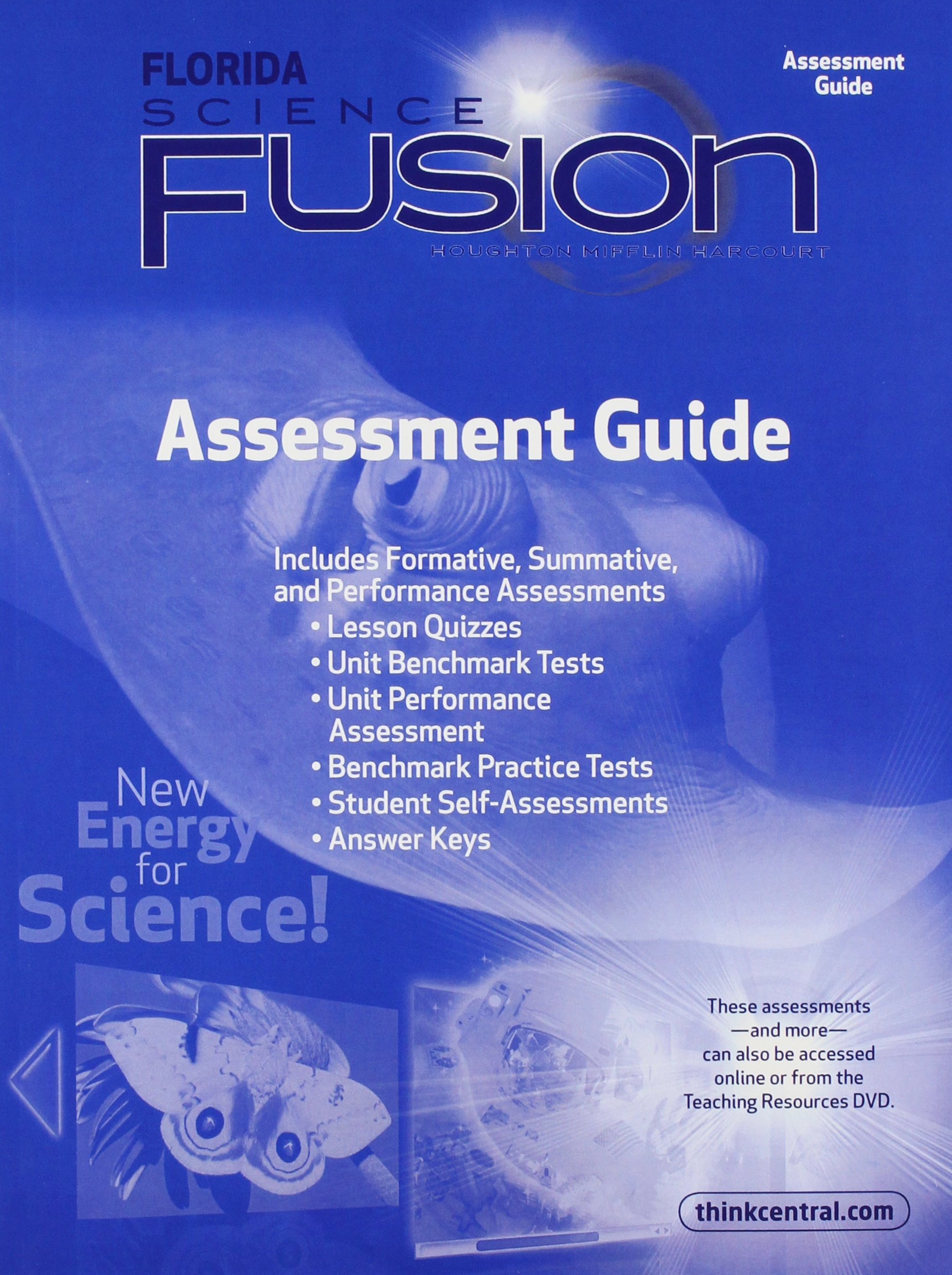 Houghton Mifflin Harcourt Science Florida: Assessment Guide Grade 4:  9780547365831: Amazon.com: Books